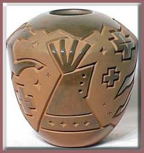 Native American Art Navajo Pottery History