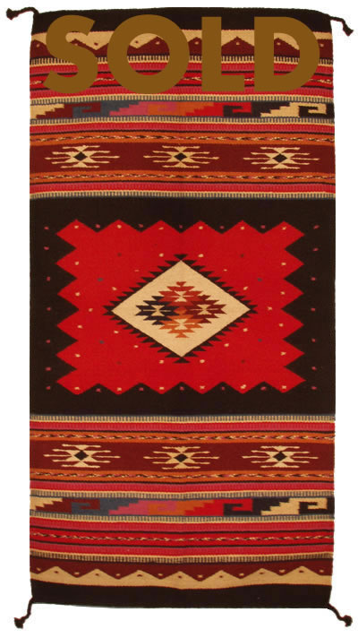 I1009 Indian Navajo Rug Replica Authentic Navajo Rugs