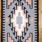 NR1004 Two Grey Hills Navajo Rug