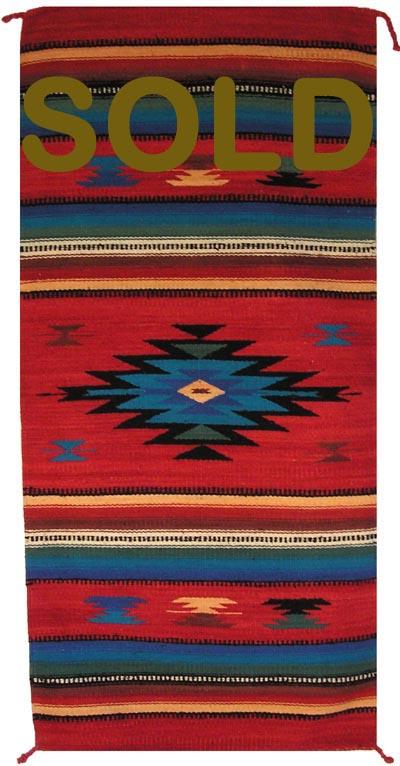 Zt1019 Zapotec Navajo Rug Replica Authentic Navajo Rugs